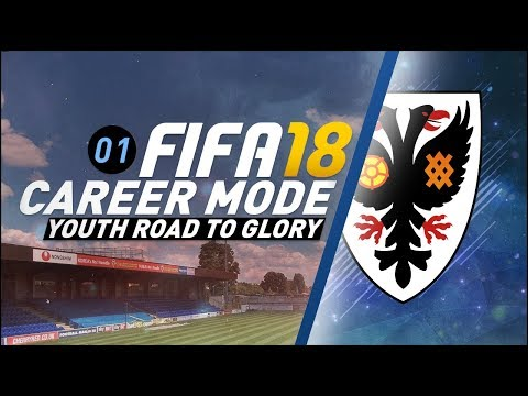 [NEW SERIES] FIFA 18 Youth Career Mode RTG Ep1 - THE KIDS ARE OUR FUTURE!!