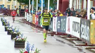 Maratonlöparen som lärde sig gå igen, Fredrik Berglund, sprang Ultravasan 90 2017