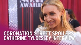 Coronation Street (Corrie) Spoilers: Catherine Tyldesley Teases Eva's Exit - Will She Take the Baby?
