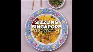 Sizzling Singapore ft. @buzzfeedtasty — Fried Carrot Cake