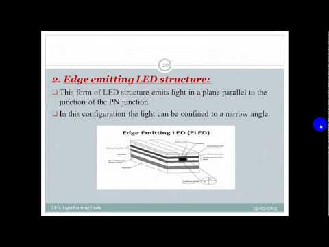 video lecture on LED