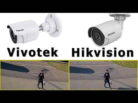 Сравнение камер Vivotek и Hikvision. Тест ip-камер Днём и Ночью