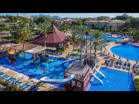 A walkthrough vr review of Hotel zafiro viva Can Picafort resort holiday hotel in Spain Mallorca