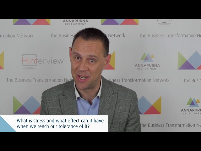 Stress in the Workforce is a Strategic Risk by Colin Minto