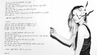 Kyla La Grange - Courage (Ashes version - handwritten lyric video)