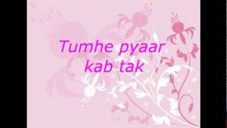 YouTube   Zindagi  do pal ki   Kites lyrics on screen {HQ}