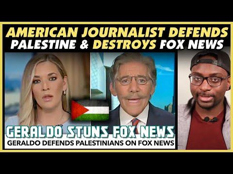 American Journalist Geraldo Defends Palestine & Destroys Fox News - REACTION