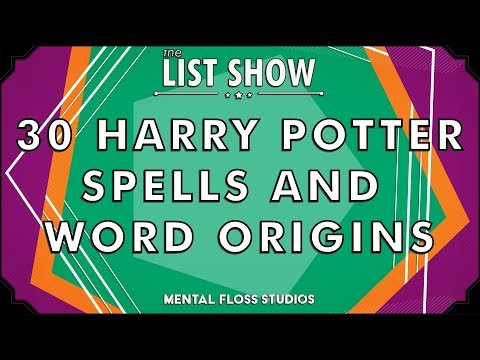 30 Harry Potter Spells and Word Origins