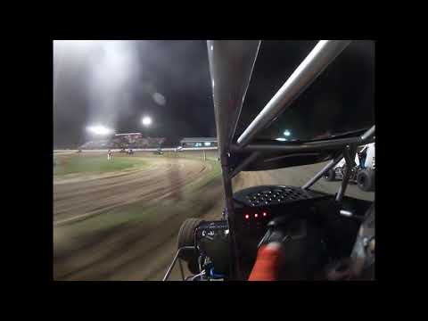 MICRO SPRINT FLIP Kenton Brewer 7K On-Board Non-Wing Sweet Springs Motorsports Complex 6/8/2019