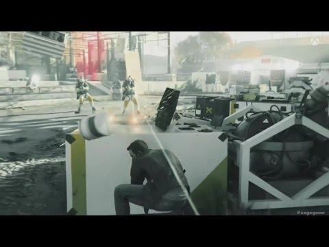 Quantum Break - First Gameplay - Gamescom 2015 - Xbox One [ HD ]