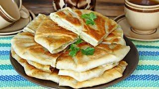 Плацинды Молдавские с картофелем на сковороде видео рецепт Вкусные лепешки с картошкой на воде
