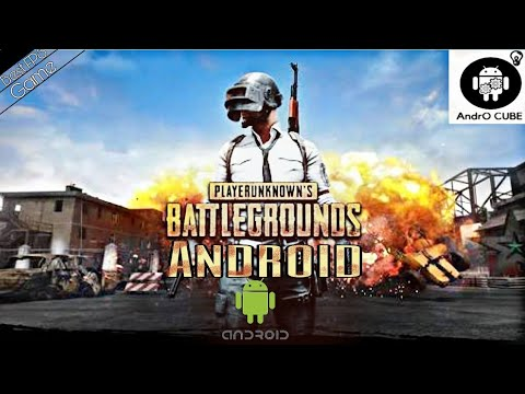 Game Play Playerunknown S Battleground Pubg Game In Any Android