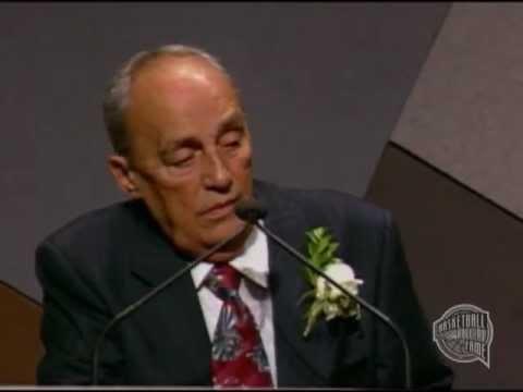 "Aleksandar ""Aca"" Nikolic's Basketball Hall of Fame Enshrinement Speech"