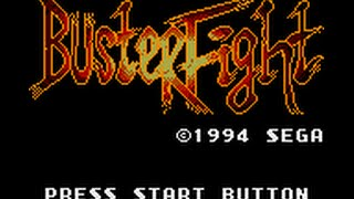 Game Gear Longplay [084] Buster Fight