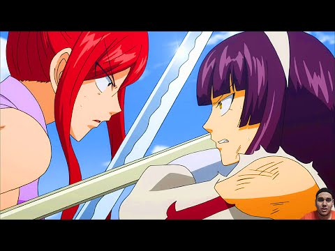 Top 10 BEST Fairy Tail Fights