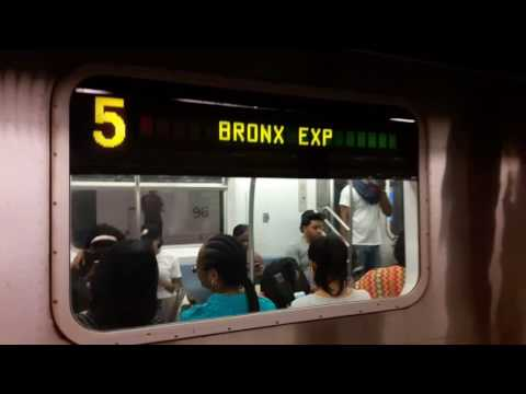 NYC Subway: 16 Uncut Minutes of (1), (2), (3) & (5) Train Action at 96th Street [7-3-2017]