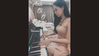 Anh Ơi Ở Lại | Hương Ly Cover | Video Lyrics