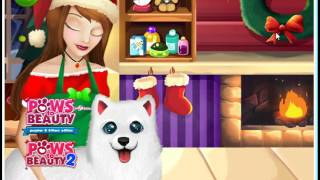 """Игра """"Уход за животными на Рождество"""" #2"""