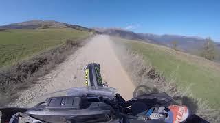 Test: MotoZ Tractionator Desert on my BMW F 800 GS Rally... Fast Ride!