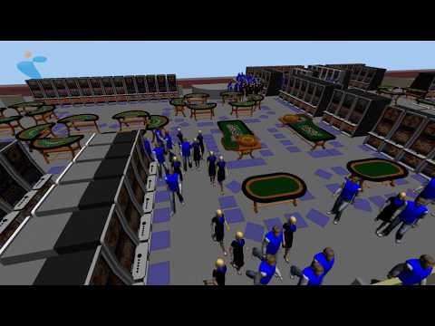 INCONTROL - Simulation of casino interior planning