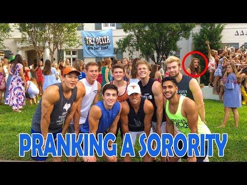 Pranking The University of Texas Tri Delta Sorority