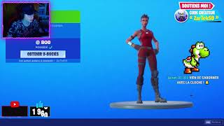 BOUTIQUE FORTNITE du 1 SEPTEMBRE 2019 ! NOUVEAU SKIN VAUTOUR à 1500 V-Bucks !