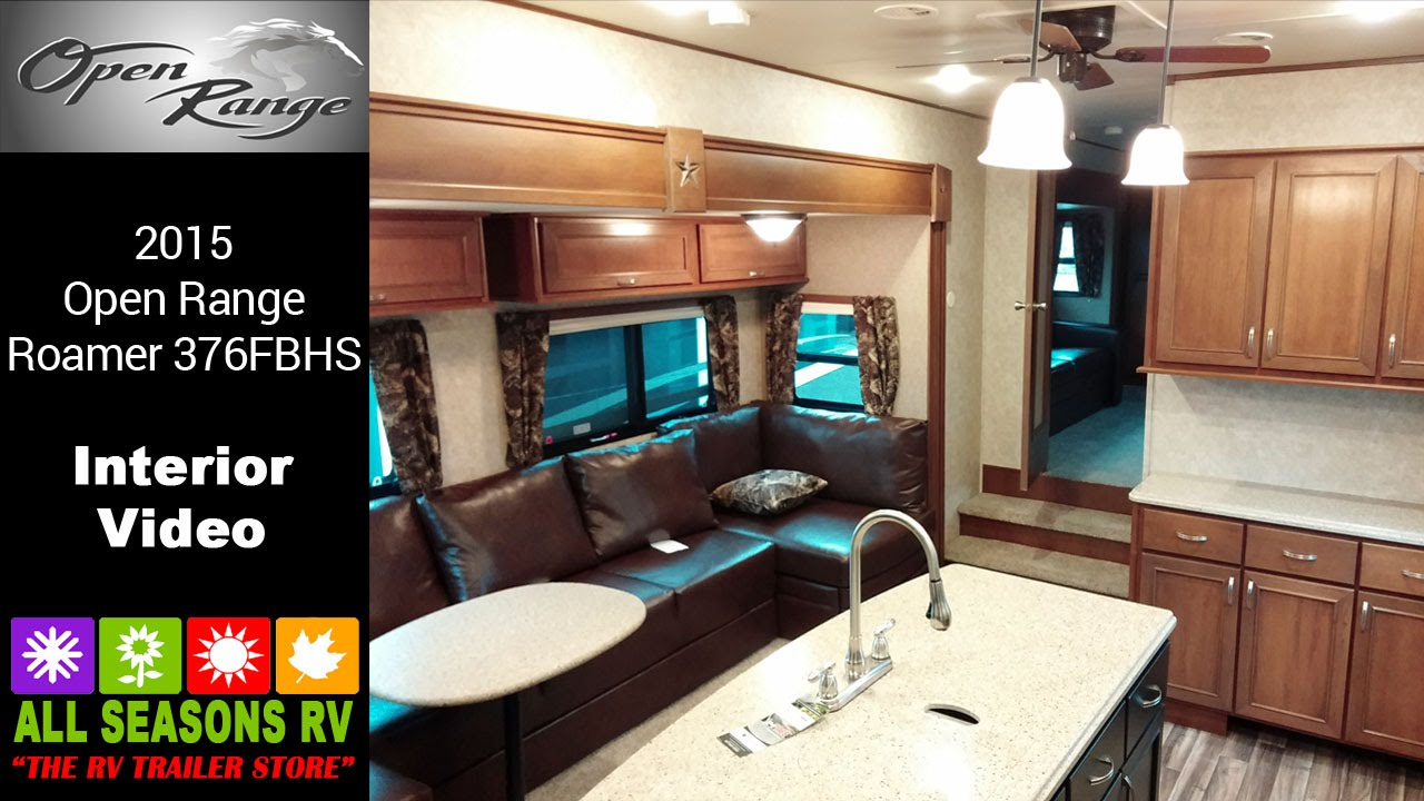 Kitchen Island With Range Cheap Decor Sold! 2015 Open Roamer 376fbh - Youtube