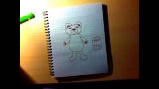 Нарисовать мишку