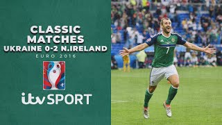 Northern Ireland claim their first EVER win at a European Championships | Euro 2016 |  ITV Sport