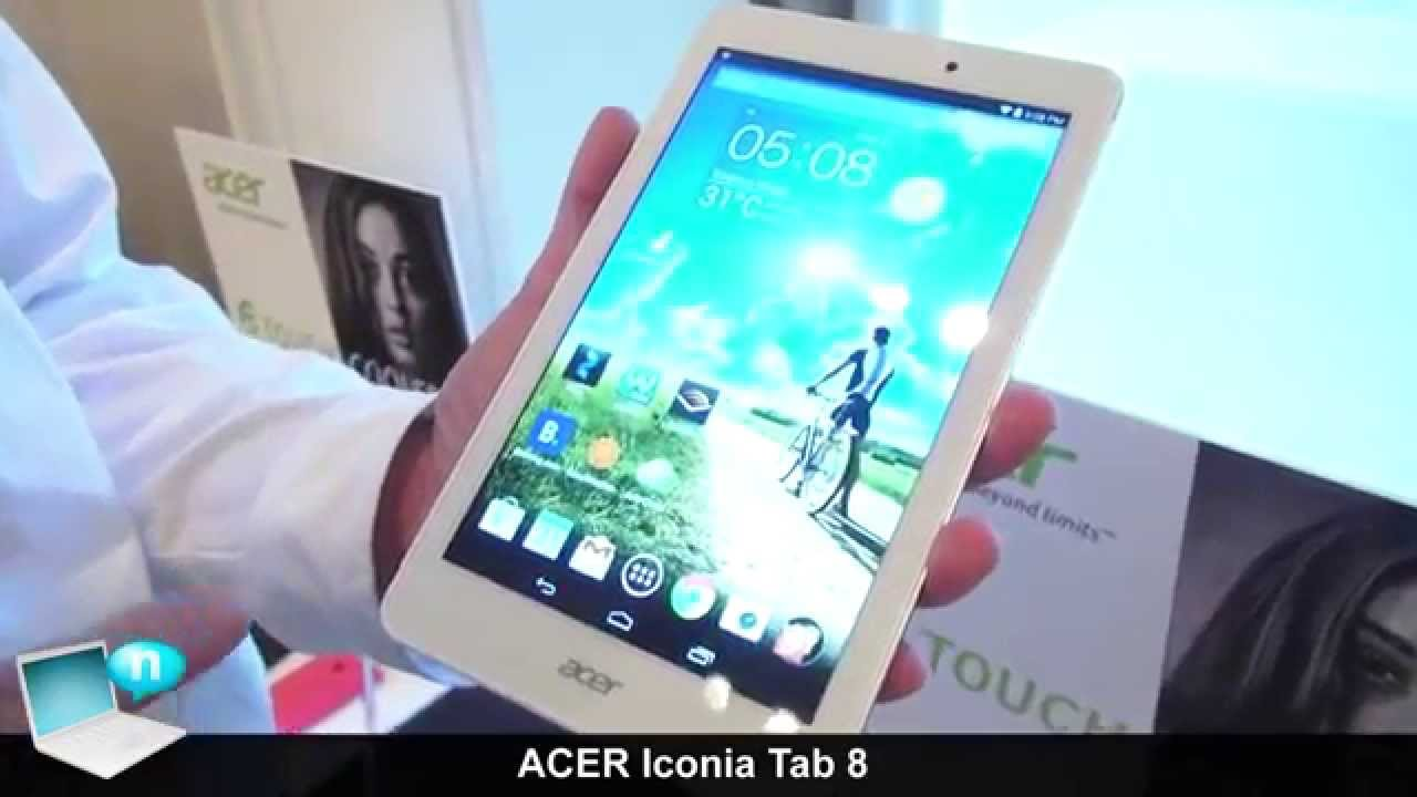 Acer Iconia Tab 8 Test