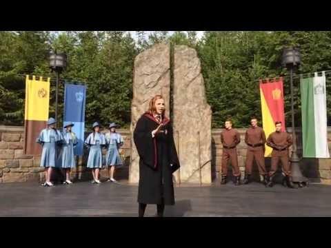 Universal Studios Japan Harry Potter (Triwizard Spirit Rally Show)