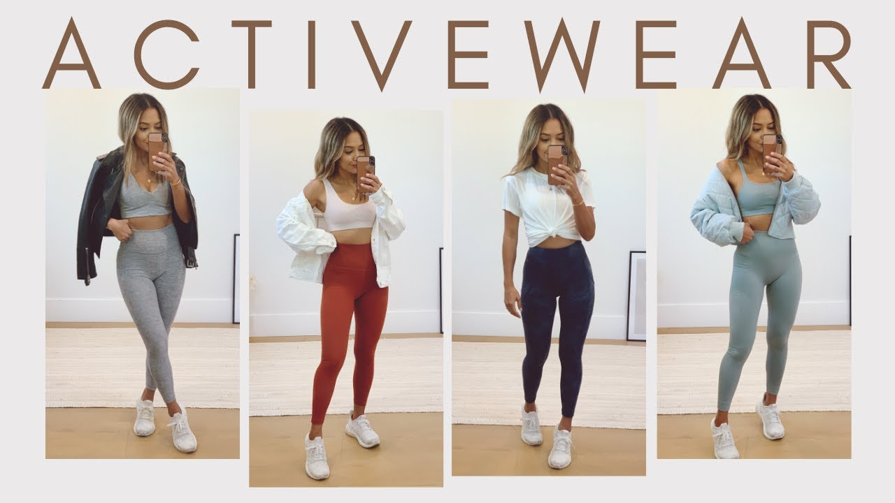 Activewear Haul & How To Style | WFH to Work Out