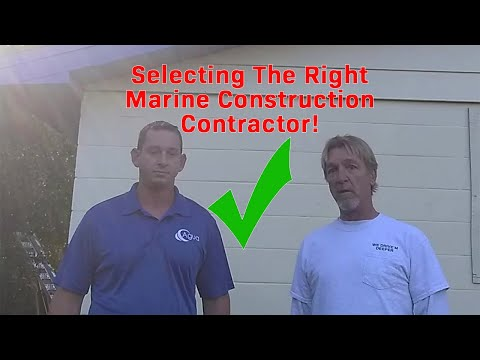 Picking Right Marine Construction Contractor in Flagler & Volusia County - Andy Harris Interview