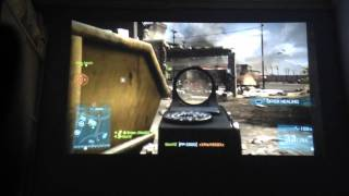 Playing Battlefield 3 on a HD projector ( A question about recording gameplay)