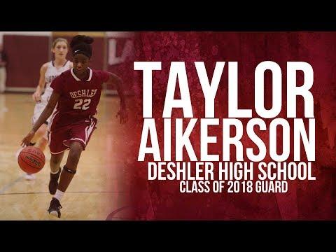 Taylor Aikerson Class of 2018 Guard Deshler High School
