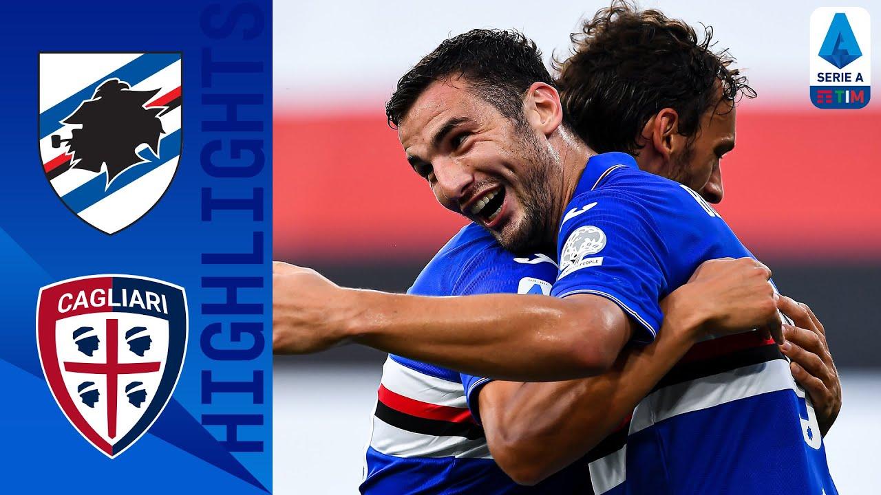 Sampdoria 3-0 Cagliari