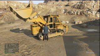 ★ GTA 5 - Bulldozer Locations & Gameplay