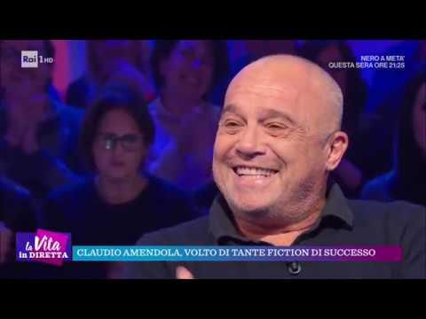 Claudio Amendola, Il Talento Di Un Attore - La Vita In Diretta 19/11/2018