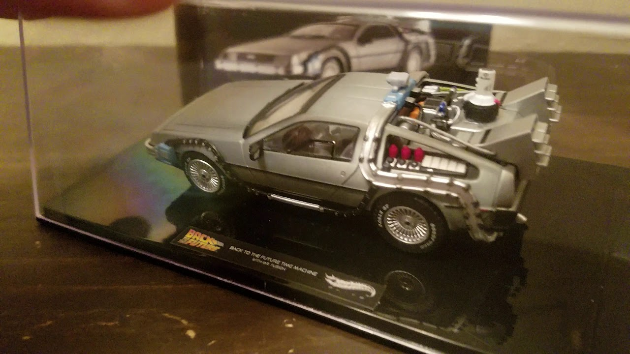 DIAMOND SELECT BACK TO THE FUTURE ICED TIME MACHINE COLLECTOR SET 1//18