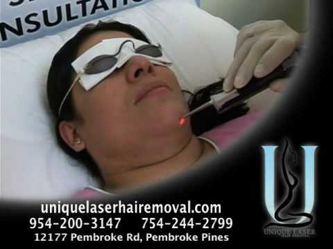 Unique, Laser Hair Removal in Weston FL, Pembroke Pines Hair Removal, 33025