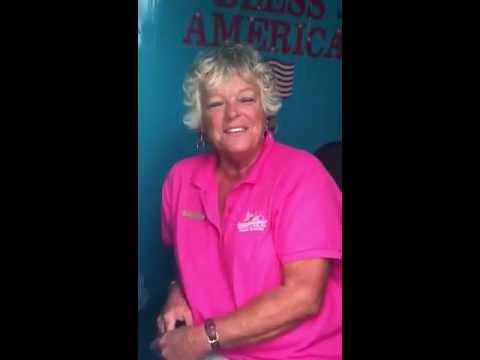 Cedar Island Ferry Worker - Cindi Haning from Cedar Island, NC