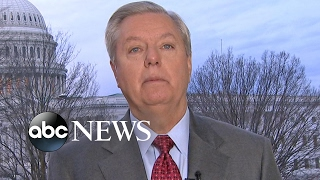 Sen. Lindsey Graham reacts to Trump, Russia investigation