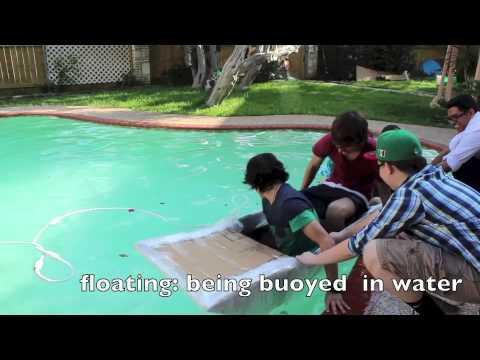 Cardboard boat project #1