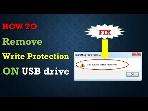 How to remove write protection from pen drive in windows 7 ultimate