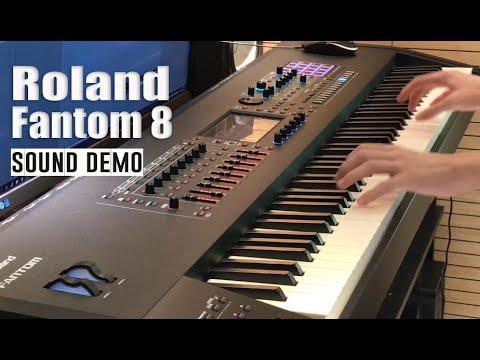 Roland Fantom 8 -  Sound Demo by Yohan Kim