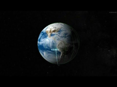 Icesat-2: la Nasa mesure les glaciers grâce à un laser