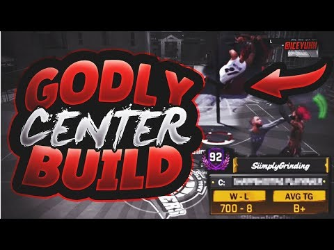 BEST CENTER BUILD ON NBA 2K18!! UNSTOPPABLE DEMI-GOD BUILD TAKES OVER THE PLAYGROUNDS!!!