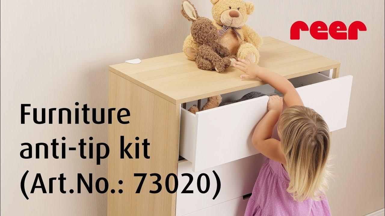 Reer Furniture Anti Tip Kit Item No