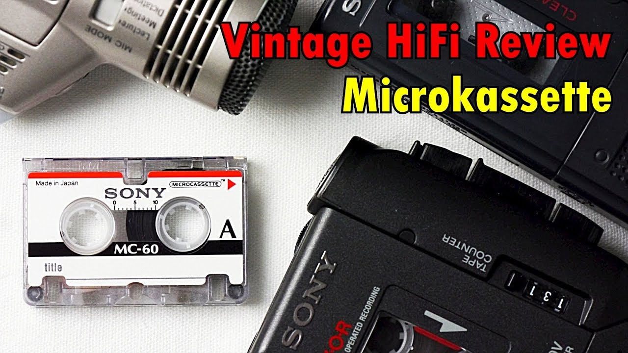 Sony MC-60 Diktiergerät Micro Kassette Mikrokassette