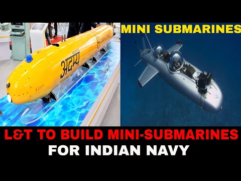 L&T to build mini submarines for Navy